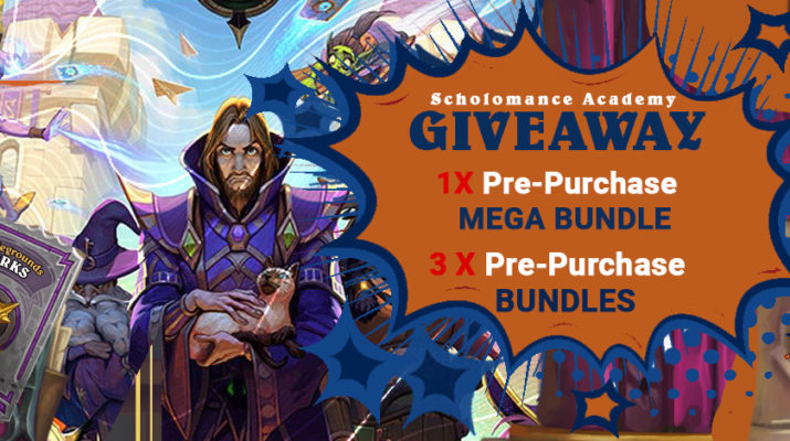 Giveaway | Scholomance Academy Bundles