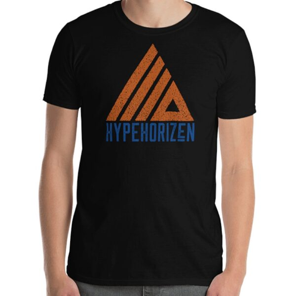 HypeHorizen Logo Tee - Black