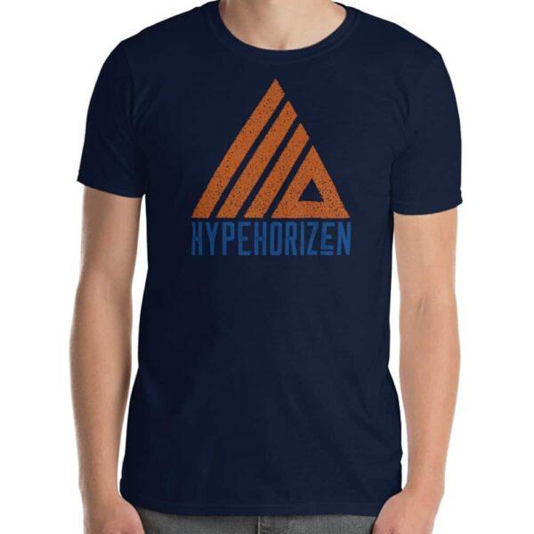 HypeHorizen Logo Tee - Navy