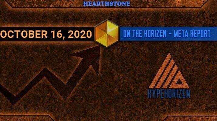 Hearthstone Meta Report October 16