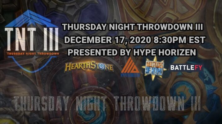Thursday Night Throwdown III