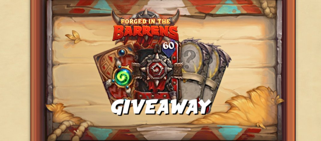 Forged in the Barrens Giveaway