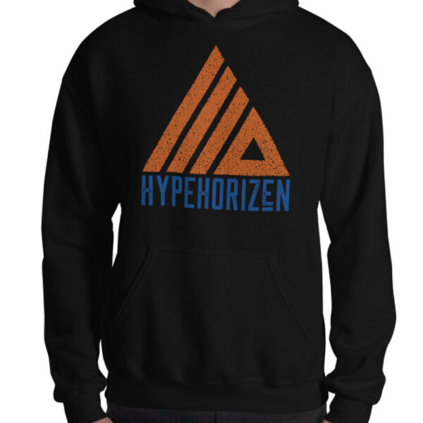 HypeHorizen Hoodie Black