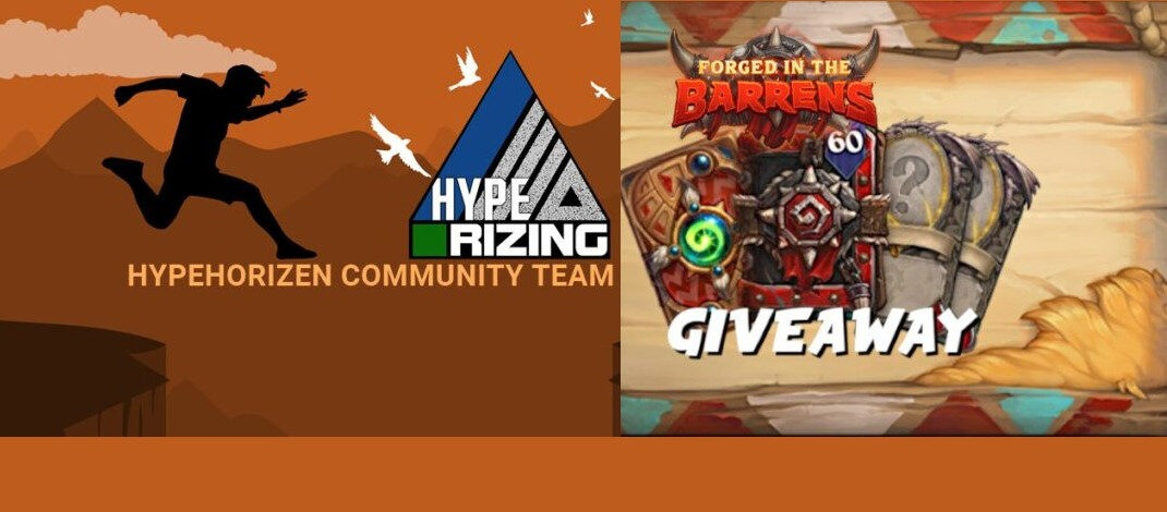 Hype Rizing Community Team Giveaway