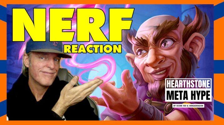 Nerf Reaction