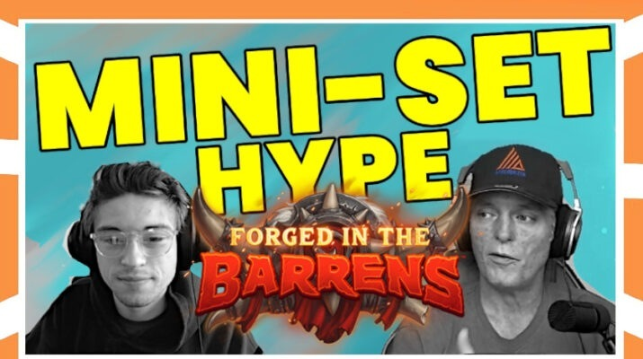 Is the Hearthstone Forged in the Barrens Mini-Set coming soon? Ecore 100 and VengaDragon talk about what they want to see for the new meta and in a mini-set when it is released. Right now the release date is unknown.