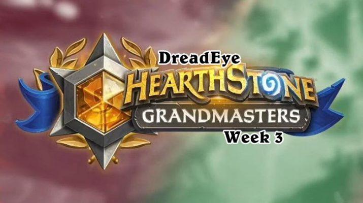 Dreadeye Wins Week 3 of Grandmasters Tour