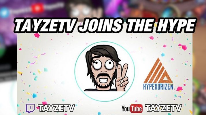 Hype Horizen is pleased to announce Tayze has earned a well-deserved promotion to the Hype Horizen Team effective September 1, 2021.